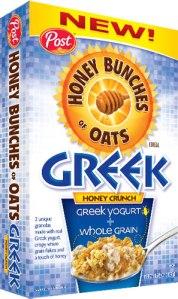 Honey Bunches Of Oats Greek Cereal
