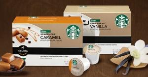 Starbucks vanilla & caramel k-cups