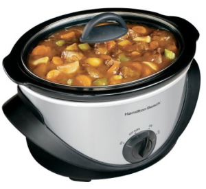 Hamilton Beach 4 qt. Stainless Steel Slow Cooker