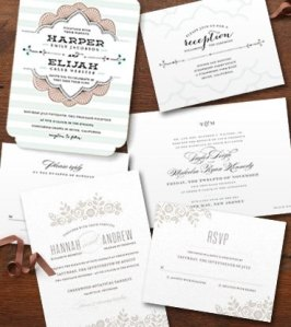 Minted Wedding Samples
