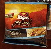 Folgers Vanilla Biscotti Coffee