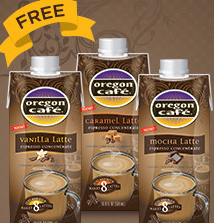 Oregon Cafe Espresso Latte Concentrate